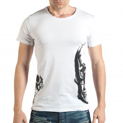 Tricou bărbați Catch alb il140416-11 2