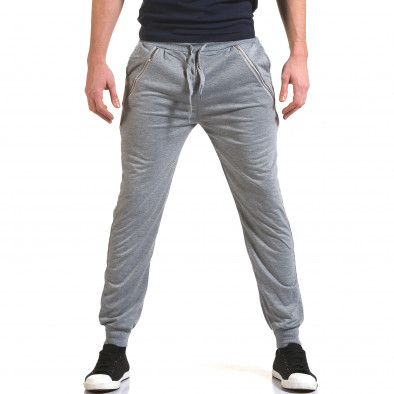 Pantaloni bărbați Eadae Wear gri it090216-53 2