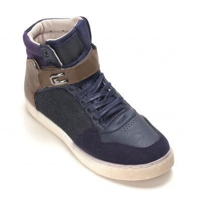 Pantofi sport bărbați Reeca albaștri it100915-19 3
