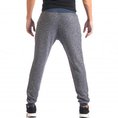 Pantaloni sport bărbați New Mentality albastru it160816-25 3