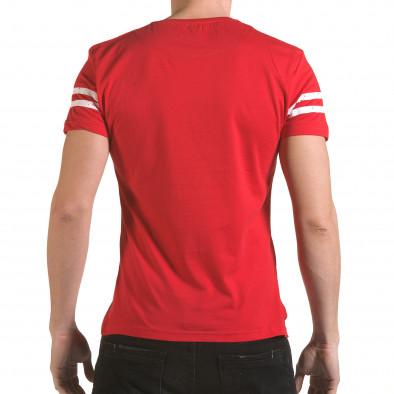 Tricou bărbați Franklin roșu il170216-18 3
