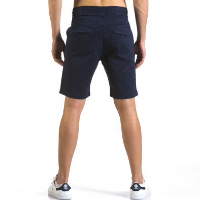 Pantaloni scurți bărbați Marshall albaștri it110316-41 3