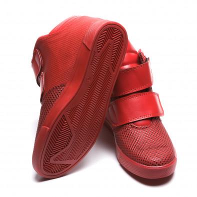 Pantofi sport bărbați Coner roșii il160216-12 4