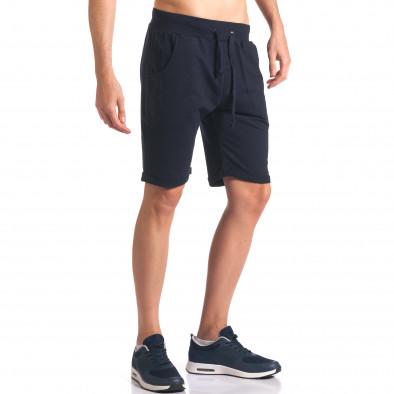 Pantaloni scurți bărbați New Men albaștri it260416-29 4