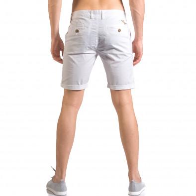 Pantaloni scurți bărbați XZX-Star albi ca050416-62 3