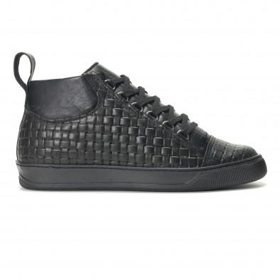 Teniși bărbați Shoes in Progress negri it140916-25 2
