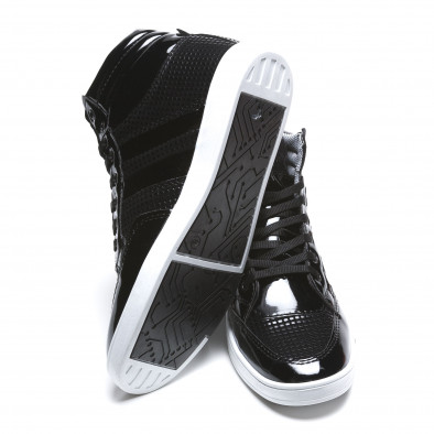 Pantofi sport bărbați Coner negri il160216-3 4