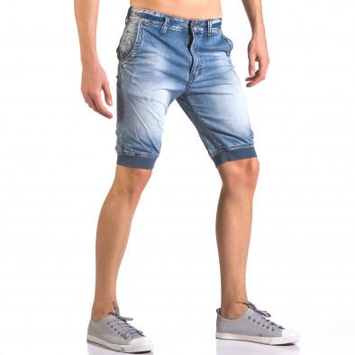 Blugi scurți bărbați Always Jeans albaștri ca050416-68 4