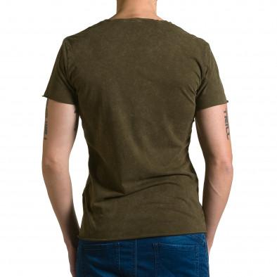 Tricou bărbați Adrexx verde ca190116-46 3