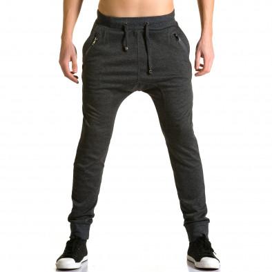 Pantaloni baggy bărbați Furia Rossa negri ca190116-19 2