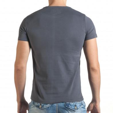 Tricou bărbați Just Relax gri il140416-25 3
