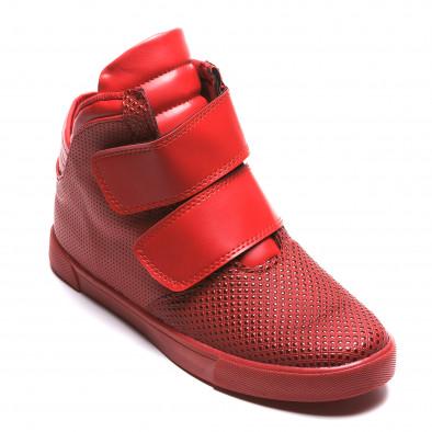 Pantofi sport bărbați Coner roșii il160216-12 3
