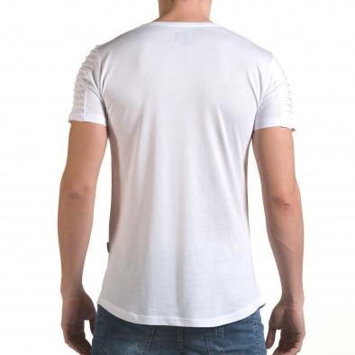 Tricou bărbați Click Bomb alb il170216-71 3