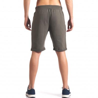 Pantaloni scurți bărbați New Men verzi it260416-27 3
