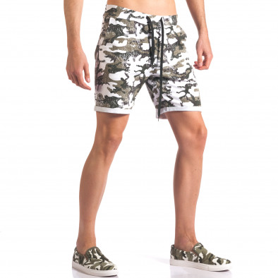Pantaloni scurți bărbați Millions camuflaj it250416-7 4
