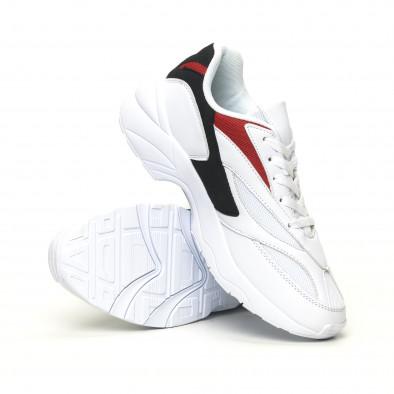 Adidași albi combinați pentru bărbați it051219-3 5
