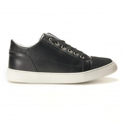 Teniși bărbați Shoes in Progress negri it100317-18 3