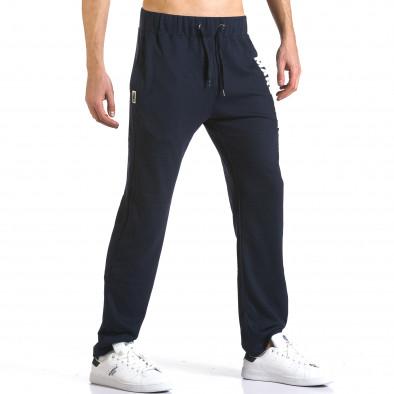 Pantaloni bărbați Marshall albastru it110316-15 4