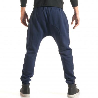 Pantaloni baggy bărbați The Power albaștri it181116-44 3