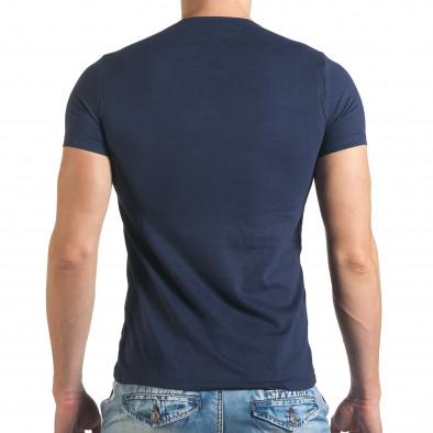 Tricou bărbați Just Relax albastru il140416-20 3