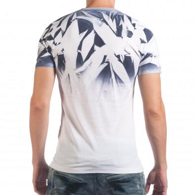 Tricou bărbați SAW alb il060616-36 3