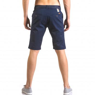 Pantaloni scurți bărbați Baci & Dolce albaștri ca050416-58 3
