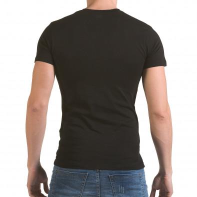 Tricou bărbați SAW negru il170216-56 3
