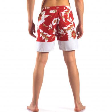 Costume de baie bărbați Austar Jeans roșu it150616-21 3