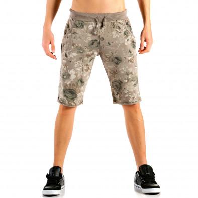 Pantaloni scurți bărbați FM verzi it240415-27 2