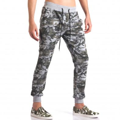 Pantaloni bărbați FM camuflaj it250416-1 4