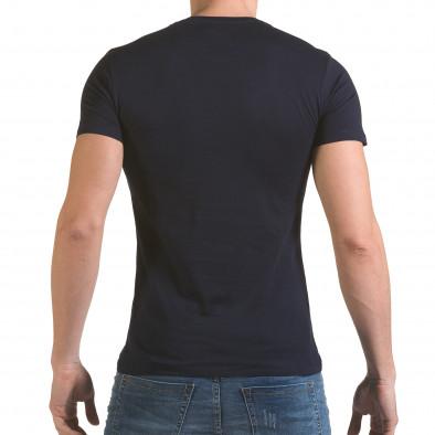 Tricou bărbați SAW albastru il170216-55 3