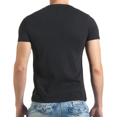 Tricou bărbați Just Relax negru il140416-50 3