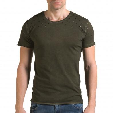 Tricou bărbați Lagos verde il120216-3 2