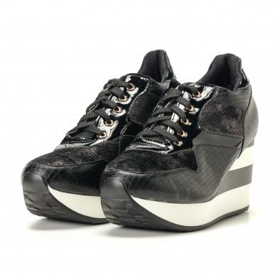 Pantofi sport de dama Sergio Todzi neagră it200917-29 3