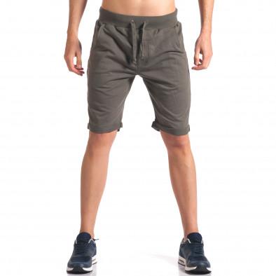 Pantaloni scurți bărbați New Men verzi it260416-27 2