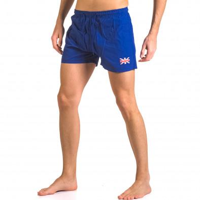 Costume de baie bărbați Bitti Jeans albastru ca050416-7 4
