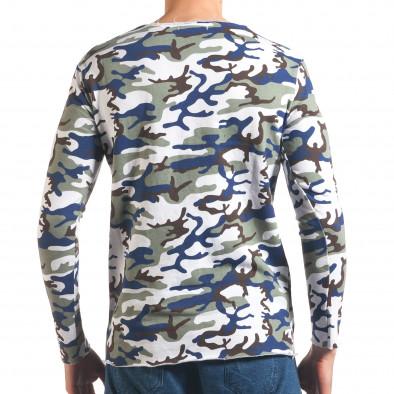 Bluză bărbați Wilfed camuflaj it250416-72 3