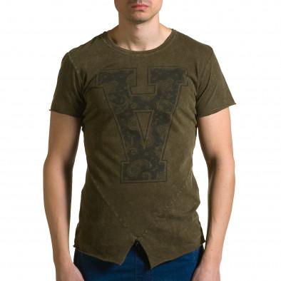 Tricou bărbați Adrexx verde ca190116-46 2