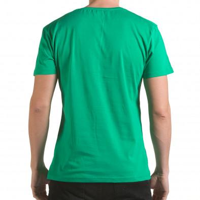 Tricou bărbați Franklin verde il170216-1 3