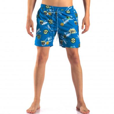 Costume de baie bărbați Austar Jeans albastru it150616-24 2
