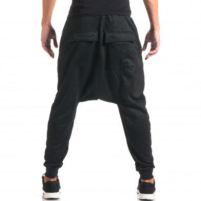 Pantaloni baggy bărbați Dontoki negri it160816-23 3