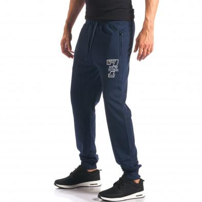 Pantaloni bărbați Top Star albastru it160816-31 4