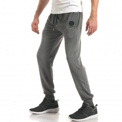 Pantaloni sport bărbați Marshall gri it140317-72 4