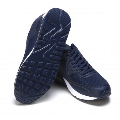 Adidași bărbați Fast Lee albastră It050216-6 4
