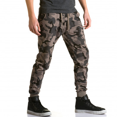 Pantaloni baggy bărbați Belmode camuflaj ca190116-30 4