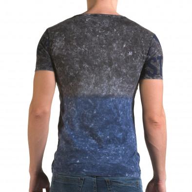 Tricou bărbați Lagos albastru il120216-24 3
