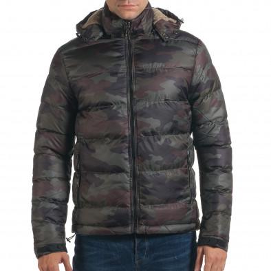 Geacă de iarnă bărbați Adrexx camuflaj it191016-105 2