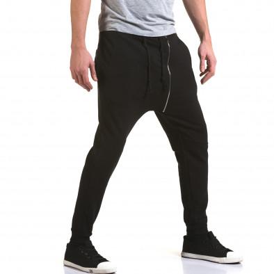 Pantaloni baggy bărbați G.Victory negri it090216-61 4