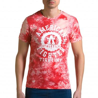 Tricou bărbați P2P roșu ca190116-44 2