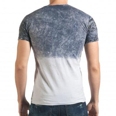 Tricou bărbați Lagos albastru il140416-63 3
